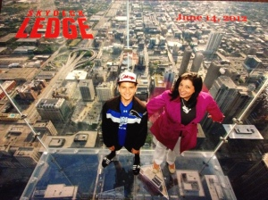 From the top of the Sears (aka Willis) Tower